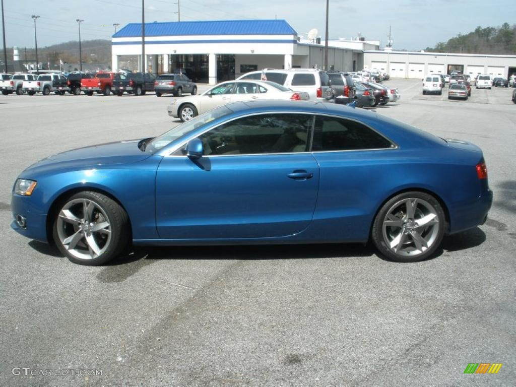 aruba blue pearl effect 2008 audi a5 3 2 quattro coupe. Black Bedroom Furniture Sets. Home Design Ideas