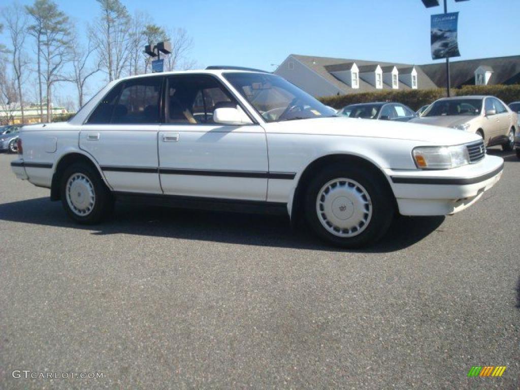 White 1989 Toyota Cressida Standard Cressida Model