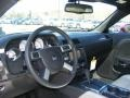 2010 Dodge Challenger Pearl White Leather Interior Dashboard Photo