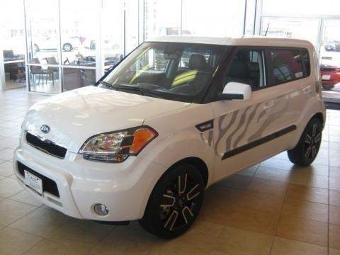 2011 Kia Soul White Tiger Special Edition Data, Info And Specs