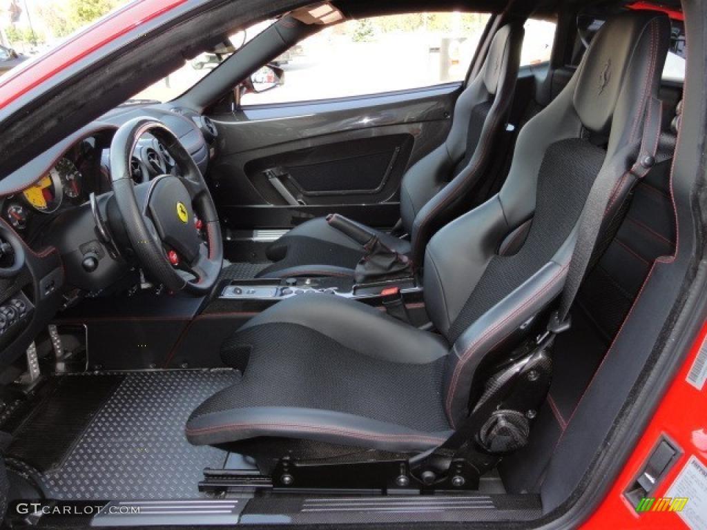 Black Interior 2009 Ferrari F430 Scuderia Coupe Photo 46252468