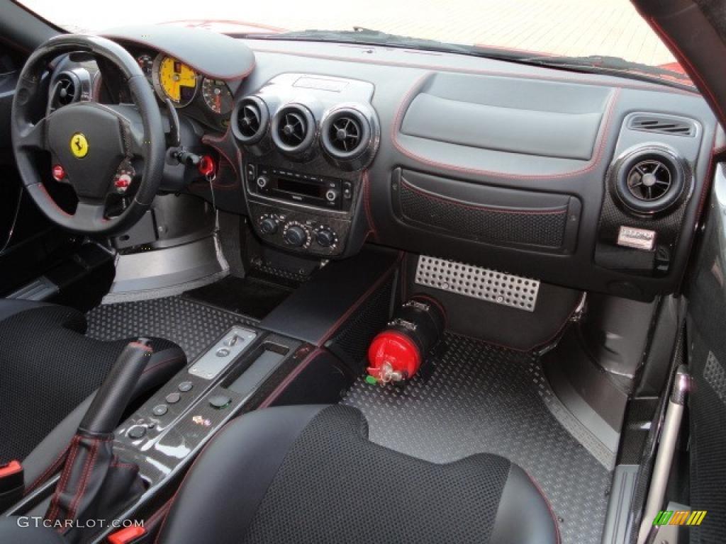 2009 Ferrari F430 Scuderia Coupe Black Dashboard Photo