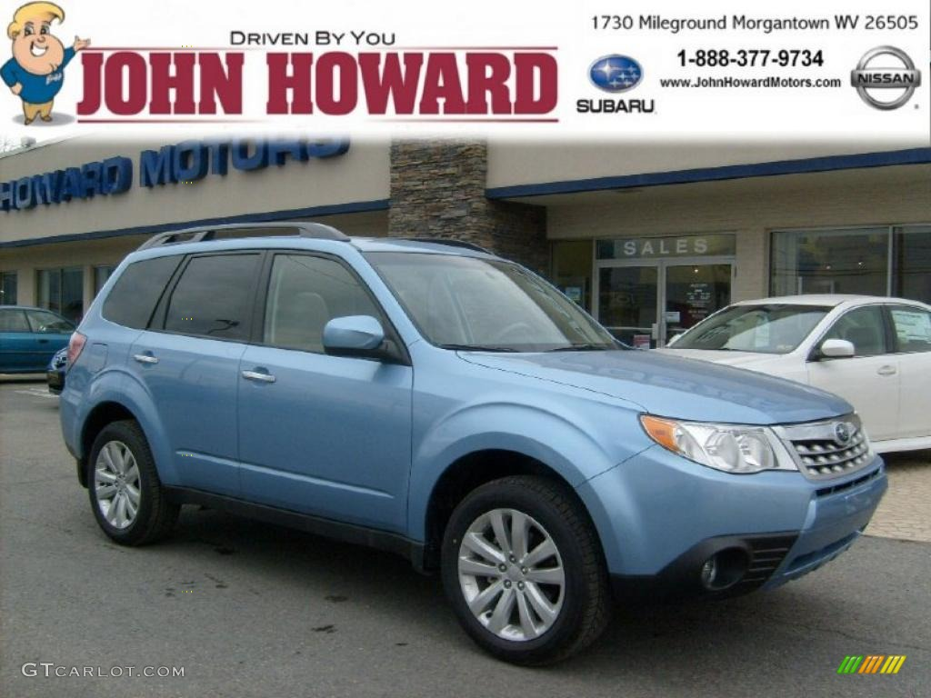 All Types 2011 forester : 2011 Sky Blue Metallic Subaru Forester 2.5 X Limited #46244611 ...