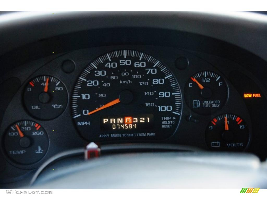 reset dash lights cars chevrolet astro