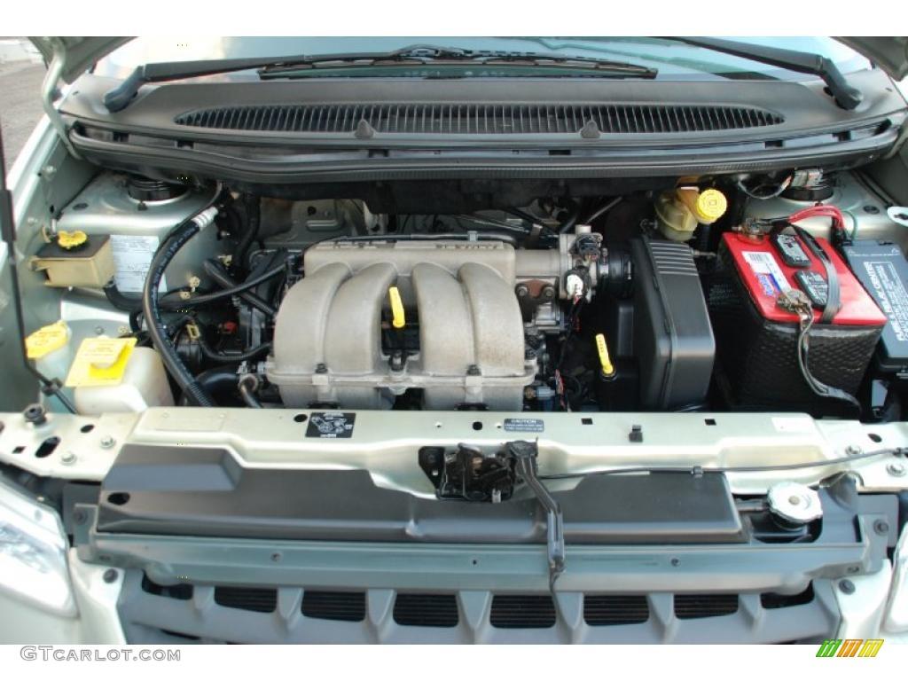 2000 Chrysler Voyager Standard Voyager Model 2.4 Liter DOHC 16-Valve 4