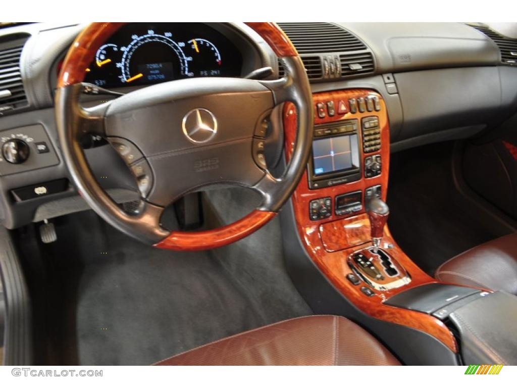 2002 mercedes benz cl 600 interior photo 46268968