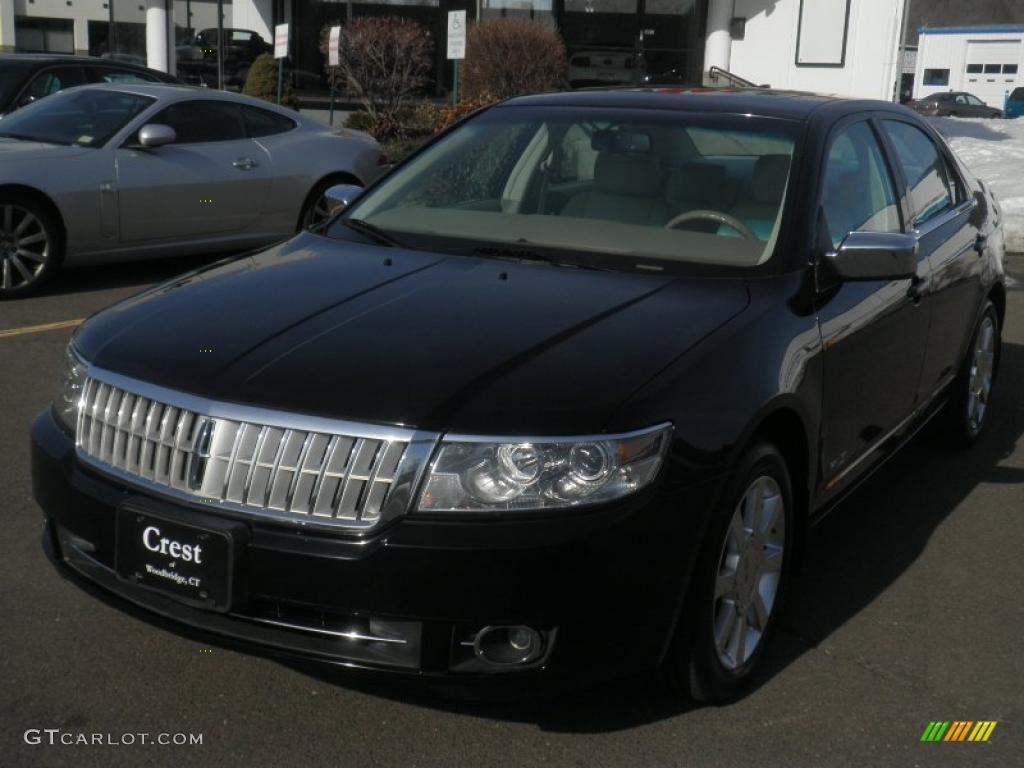 Black Lincoln MKZ