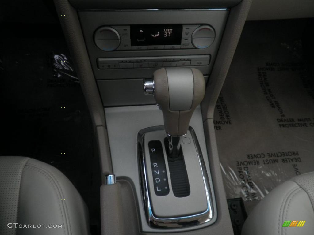 2008 MKZ AWD Sedan - Black / Light Stone photo #12