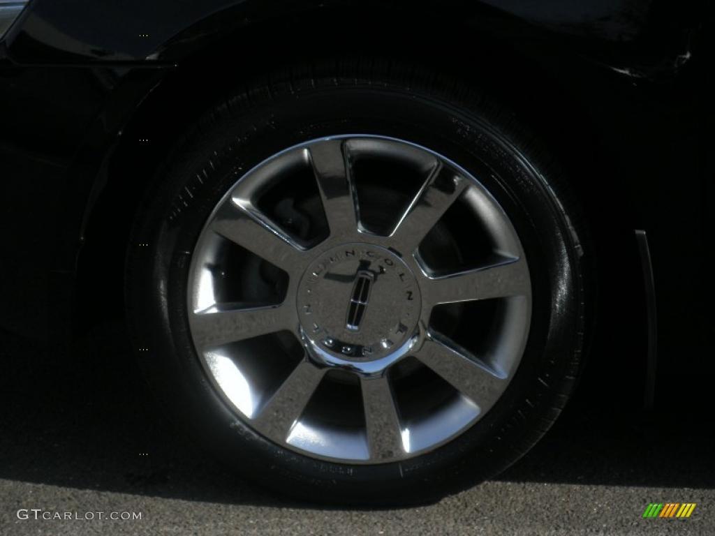 2008 MKZ AWD Sedan - Black / Light Stone photo #16
