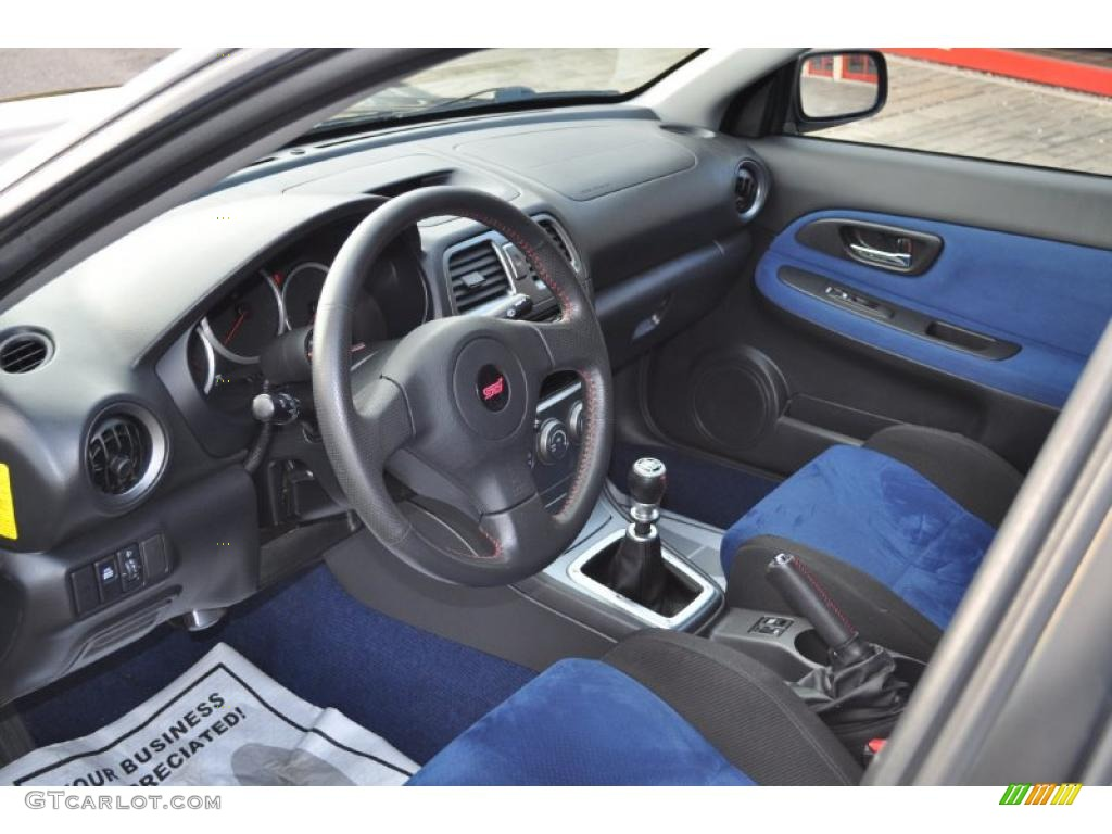 2007 Subaru Impreza Wrx Sti Interior Photo 46274117