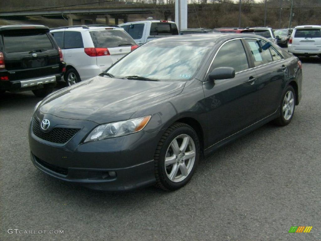 magnetic gray metallic 2009 toyota camry se exterior photo 46274301. Black Bedroom Furniture Sets. Home Design Ideas
