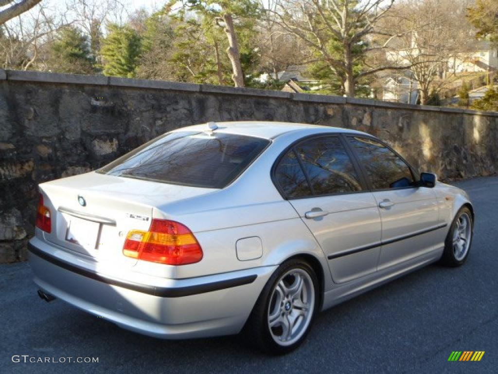 Titanium Silver Metallic 2004 Bmw 3 Series 325i Sedan
