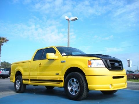 2005 Ford F150 Boss 5.4 SuperCab 4x4 Data, Info and Specs