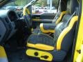 Black/Yellow 2005 Ford F150 Interiors