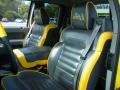 Black/Yellow Interior Photo for 2005 Ford F150 #46287706