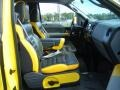 Black/Yellow Interior Photo for 2005 Ford F150 #46287730