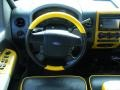 Black/Yellow Steering Wheel Photo for 2005 Ford F150 #46287760
