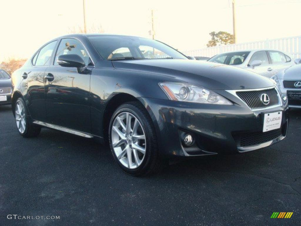 2011 smoky granite mica lexus is 250 awd 46243702. Black Bedroom Furniture Sets. Home Design Ideas