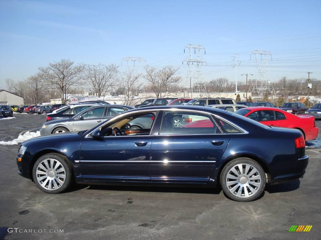 2006 Audi A8 Blue | 200+ Interior and Exterior Images