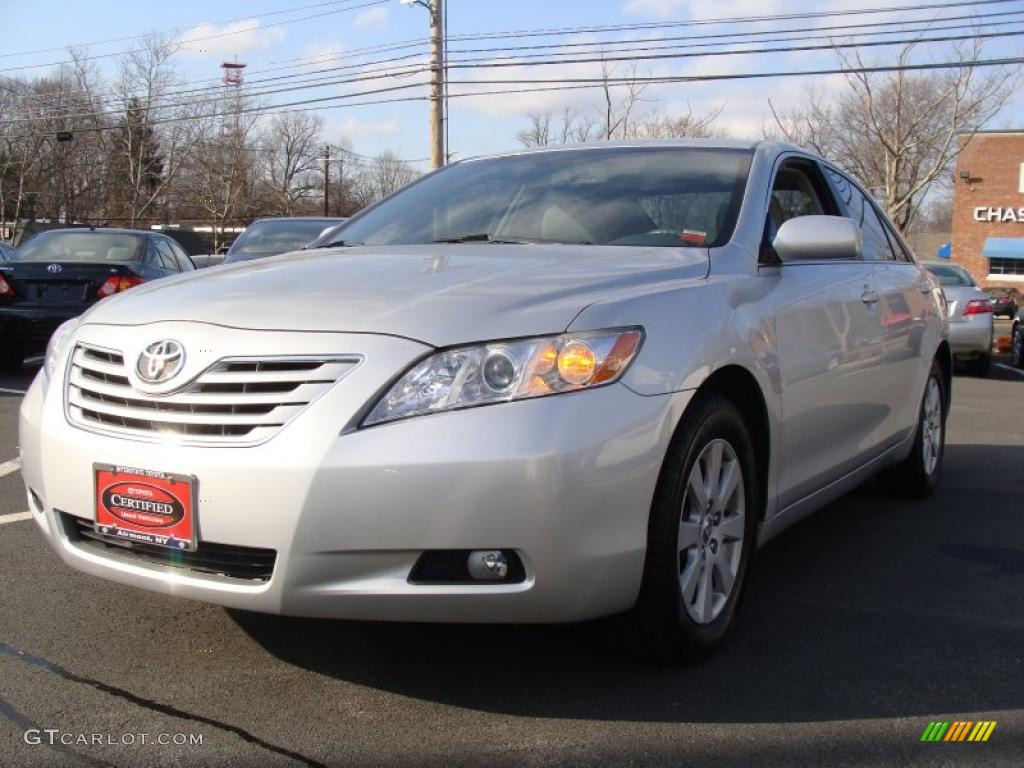 2008 classic silver metallic toyota camry xle v6 46244751. Black Bedroom Furniture Sets. Home Design Ideas
