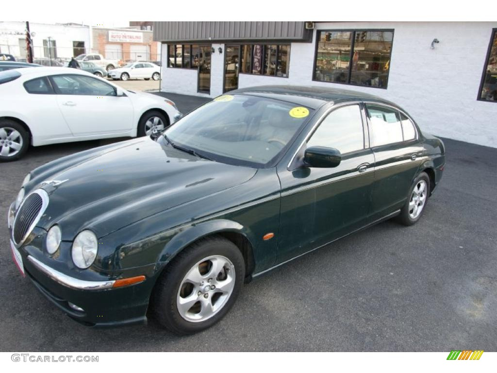 british racing green 2001 jaguar s type 3 0 exterior photo. Black Bedroom Furniture Sets. Home Design Ideas