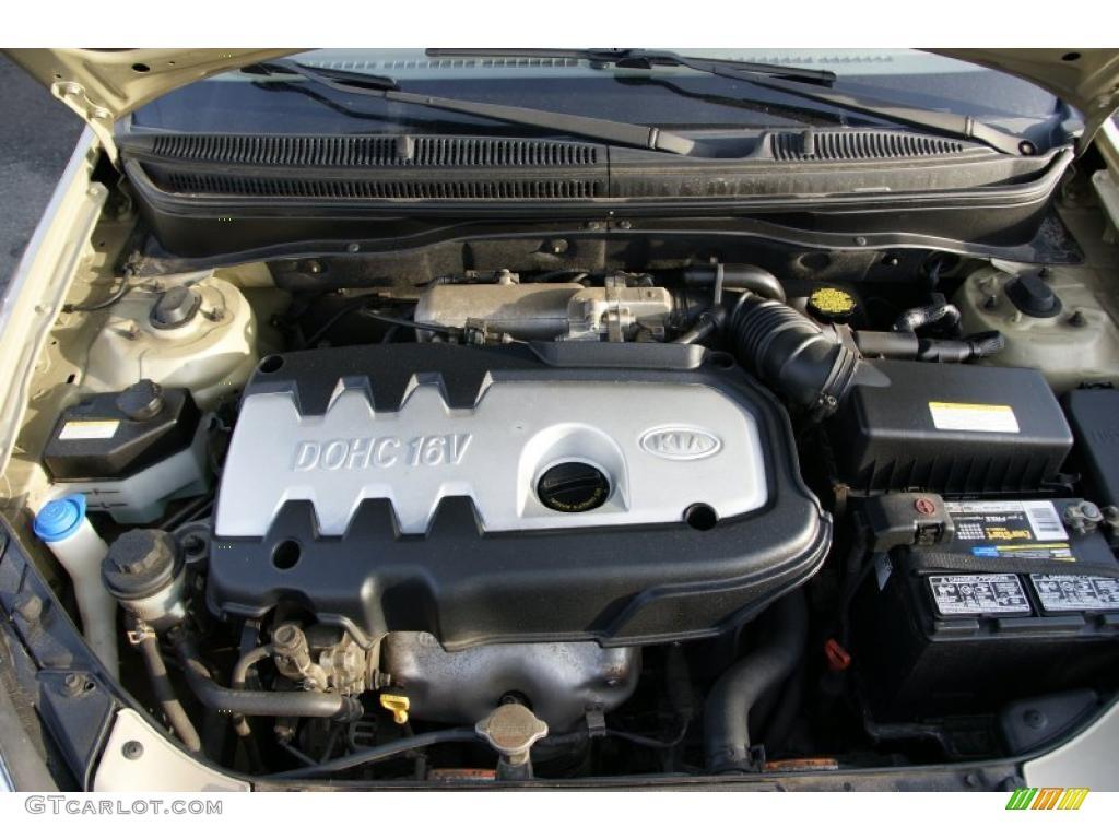 2006 Kia Rio Lx Sedan Engine Photos