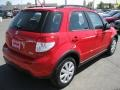 Vivid Red - SX4 Crossover AWD Photo No. 5