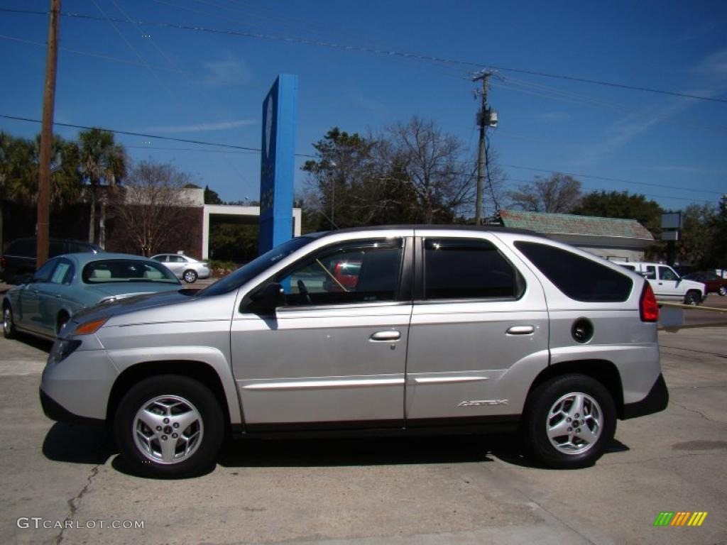Liquid silver metallic 2005 pontiac aztek standard aztek model exterior photo 46309367
