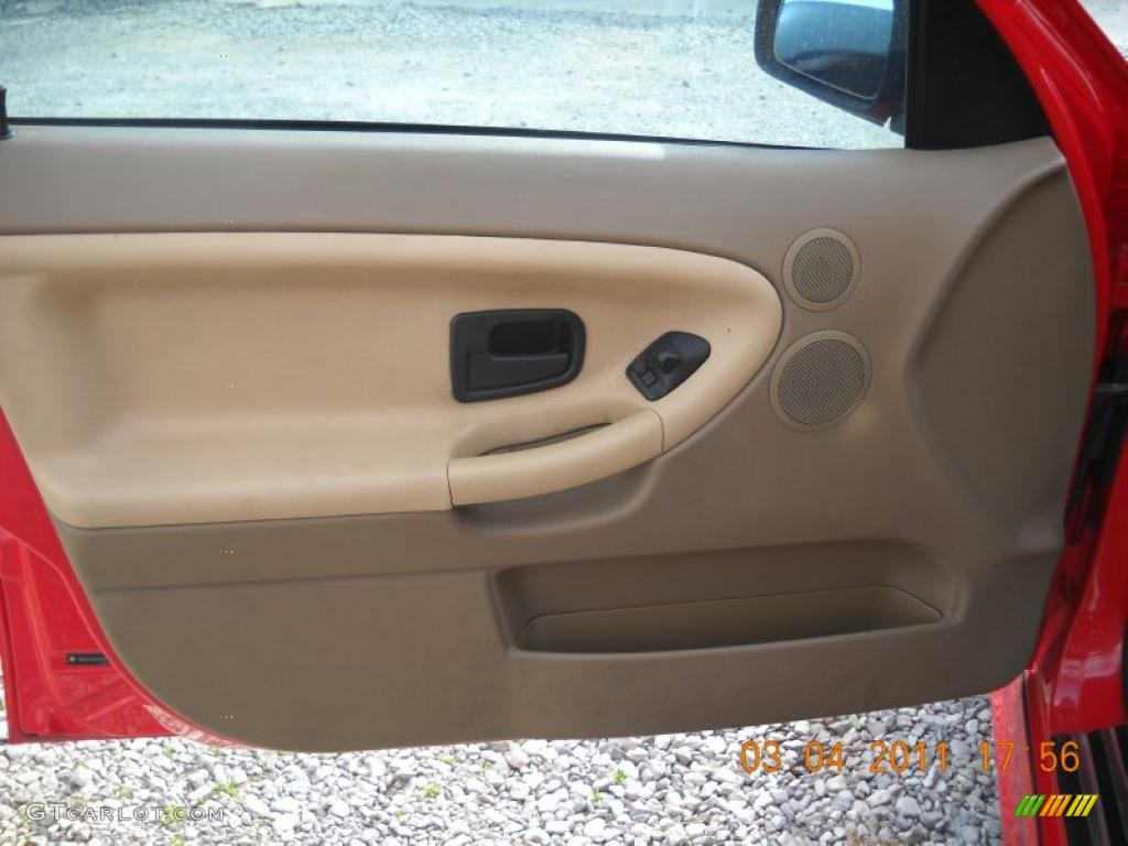 1997 Bmw 3 Series 328i Sedan Sand Door Panel Photo