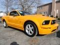 2007 Grabber Orange Ford Mustang GT Premium Coupe  photo #6