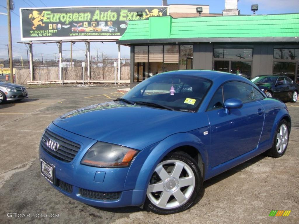 2000 denim blue audi tt 1 8t quattro coupe 46318120 car color galleries. Black Bedroom Furniture Sets. Home Design Ideas