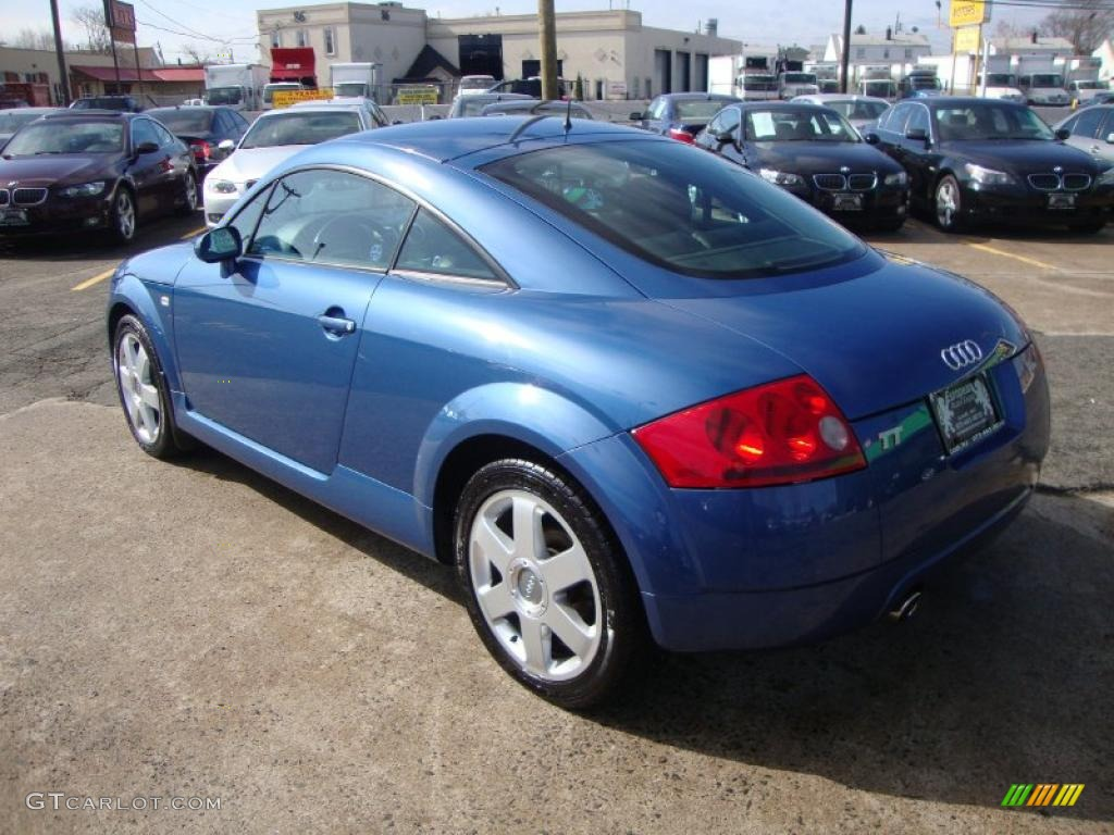 denim blue 2000 audi tt 1 8t quattro coupe exterior photo. Black Bedroom Furniture Sets. Home Design Ideas