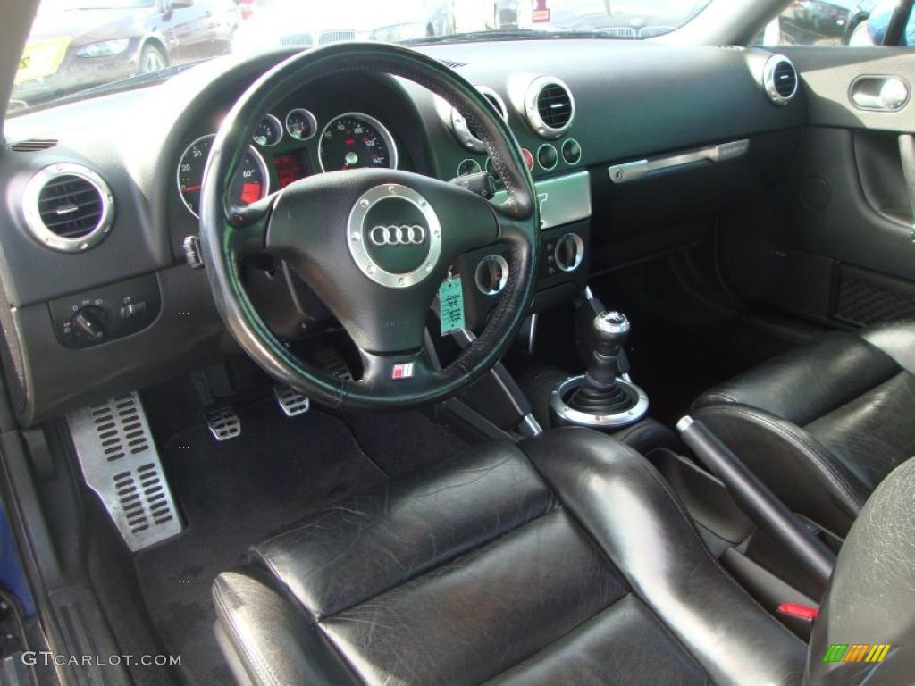 Ebony interior 2000 audi tt 1 8t quattro coupe photo for Audi tt interieur