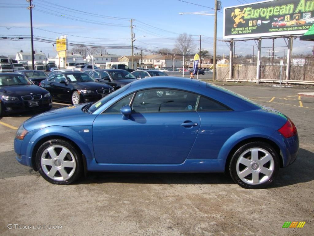 denim blue 2000 audi tt 1 8t quattro coupe exterior photo 46324950. Black Bedroom Furniture Sets. Home Design Ideas