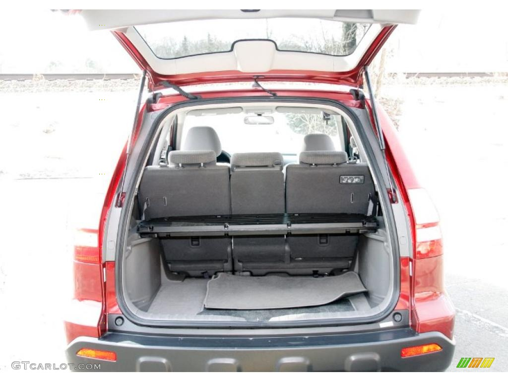 2009 CR-V EX 4WD - Tango Red Pearl / Gray photo #8