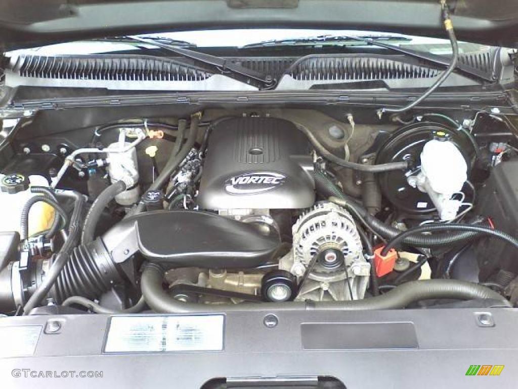 2005 chevrolet silverado 1500 z71 regular cab 4x4 5 3 liter ohv 16 valve vortec v8 engine photo. Black Bedroom Furniture Sets. Home Design Ideas