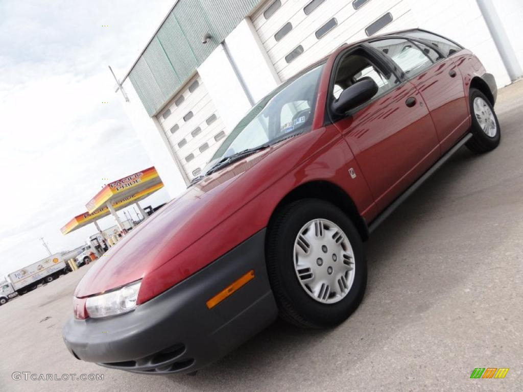 1998 s series sw1 wagon brilliant red metallic black gray photo 1