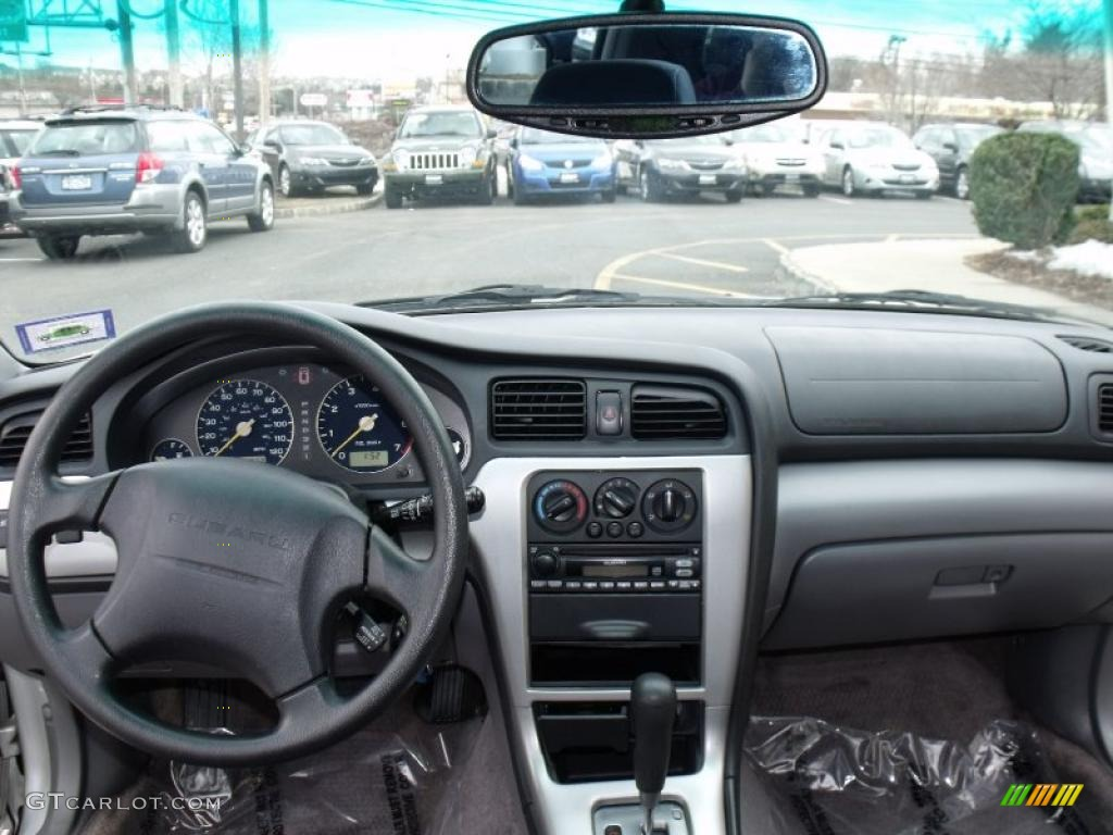 2003 subaru baja sport gray dashboard photo 46332780. Black Bedroom Furniture Sets. Home Design Ideas