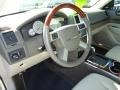 Medium Pebble Beige/Cream Steering Wheel Photo for 2008 Chrysler 300 #46334952