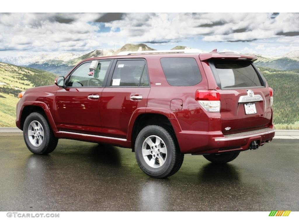 salsa red pearl 2011 toyota 4runner sr5 4x4 exterior photo. Black Bedroom Furniture Sets. Home Design Ideas