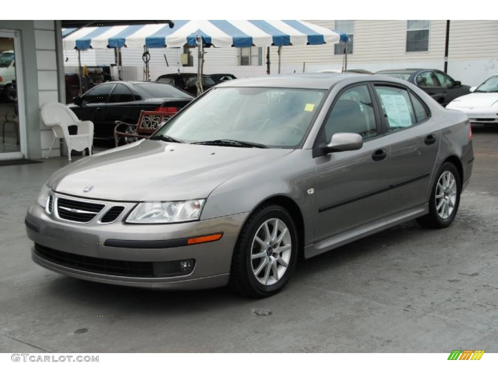 2005 steel gray metallic saab 9 3 arc sport sedan. Black Bedroom Furniture Sets. Home Design Ideas