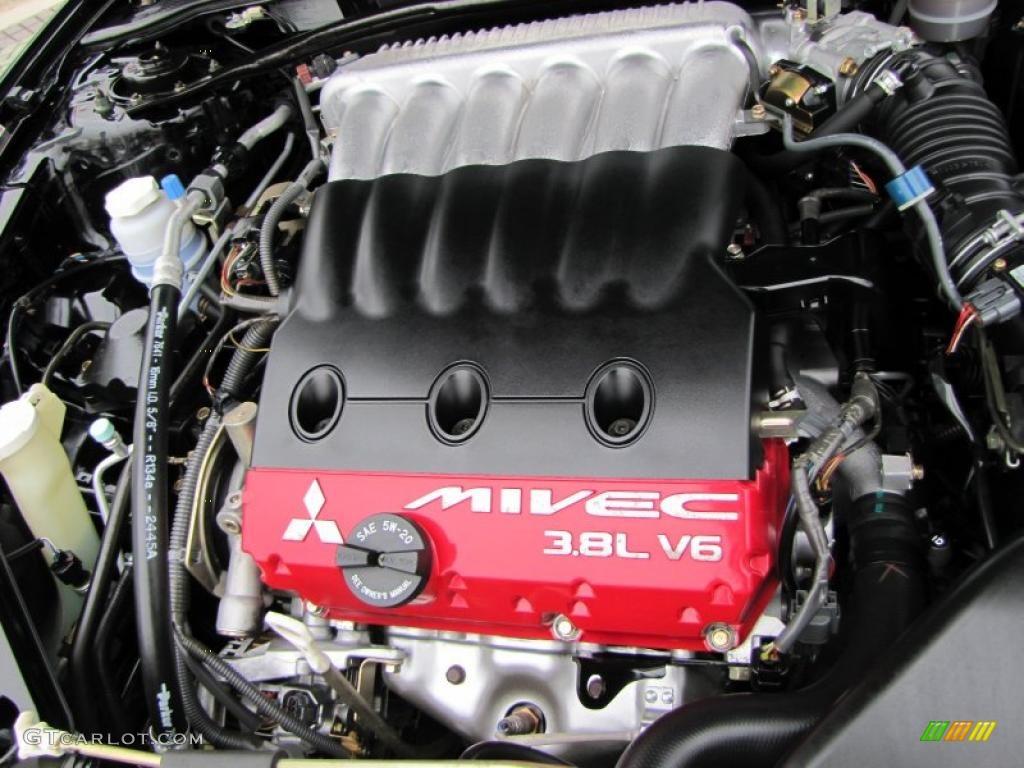 2006 Mitsubishi Eclipse Gt Coupe 3 8 Liter Sohc 24 Valve Mivec V6 Engine Photo 46340646