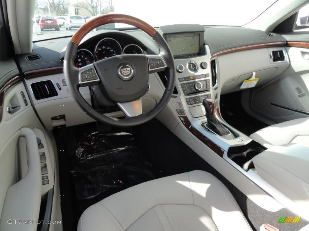 light titanium interior 2011 cadillac cts 3 6 sedan photo 46345835. Black Bedroom Furniture Sets. Home Design Ideas