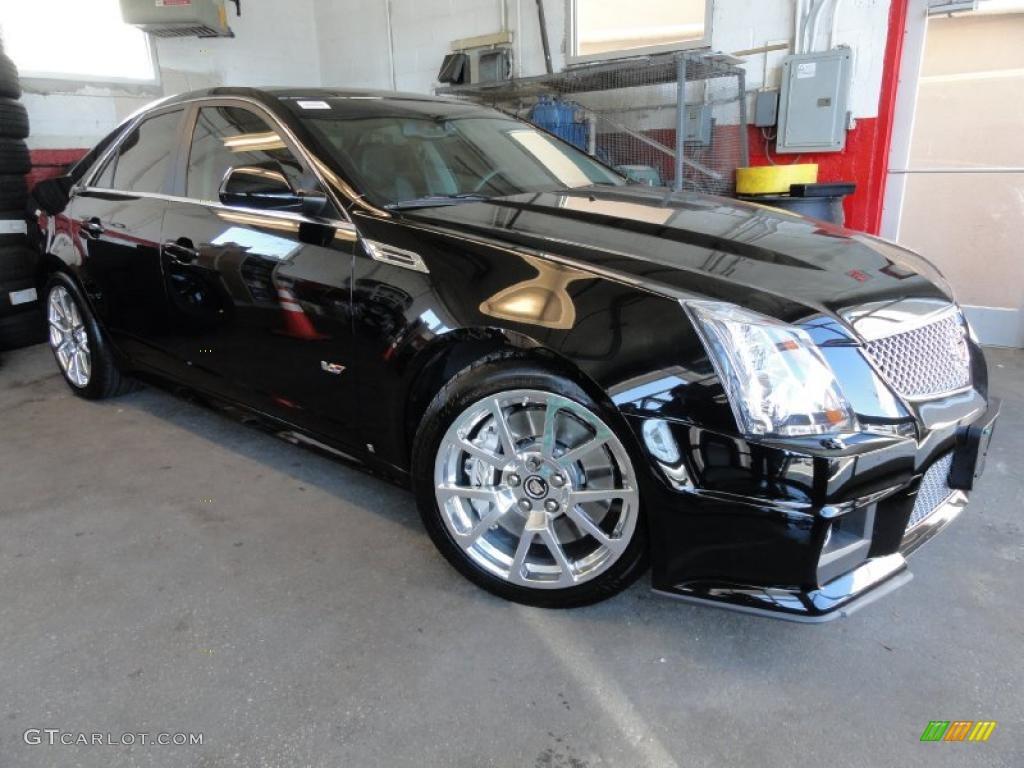 2009 Black Raven Cadillac Cts V Sedan 46345195