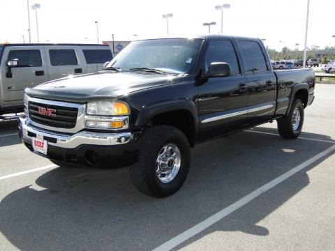 2003 gmc sierra 1500 hd sle crew cab data info and specs. Black Bedroom Furniture Sets. Home Design Ideas