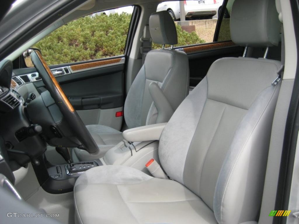 Pastel Slate Gray Interior 2007 Chrysler Pacifica Limited Awd Photo 46354337