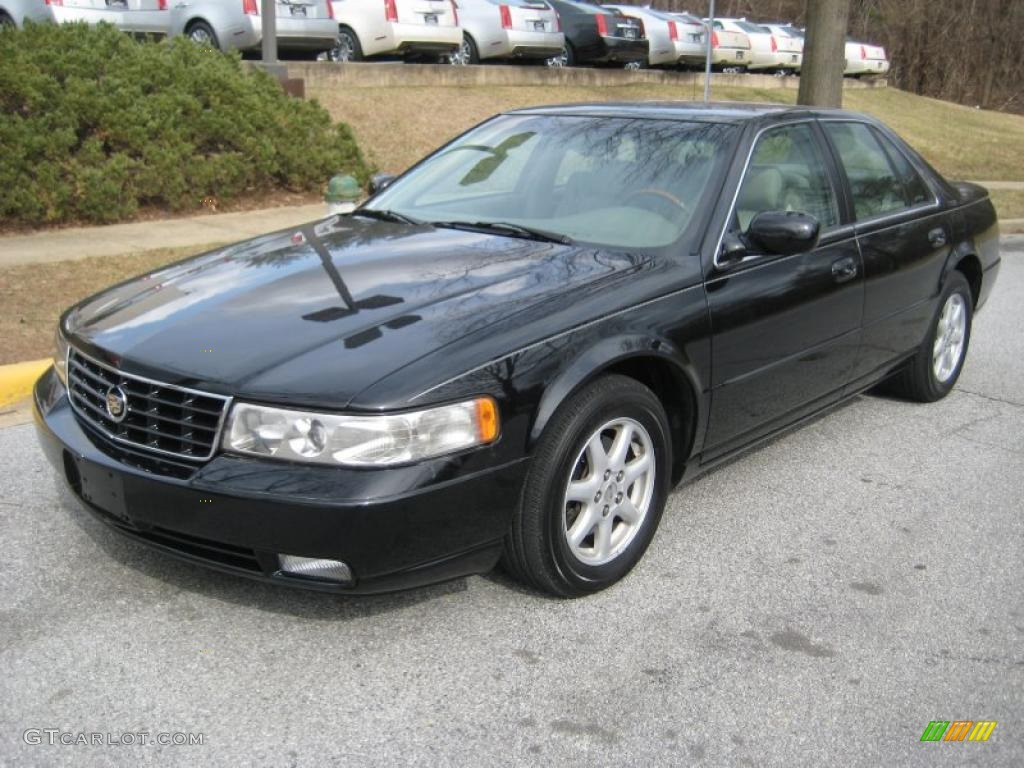 sable black 2002 cadillac seville sls exterior photo. Cars Review. Best American Auto & Cars Review