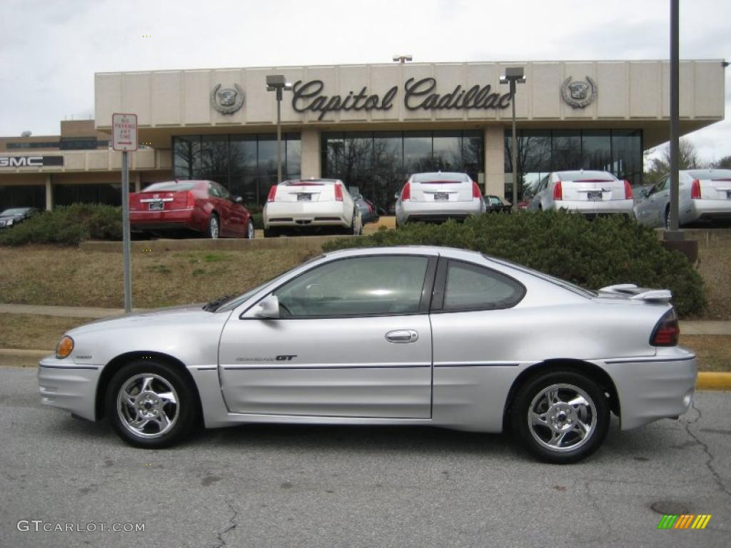 2002 galaxy silver metallic pontiac grand am gt coupe. Black Bedroom Furniture Sets. Home Design Ideas