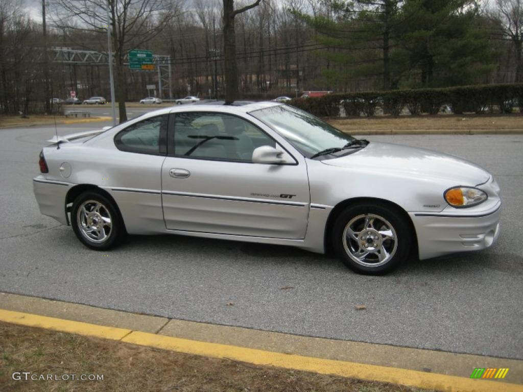 Galaxy Silver Metallic 2002 Pontiac Grand Am GT Coupe Exterior Photo ...