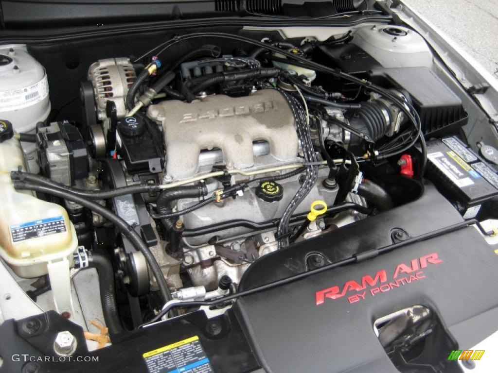 2002 Pontiac Grand Am GT Coupe 3.4 Liter OHV 12-Valve V6 Engine Photo #